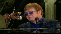 Grammys 2013: Elton John performs with Mumford and Sons