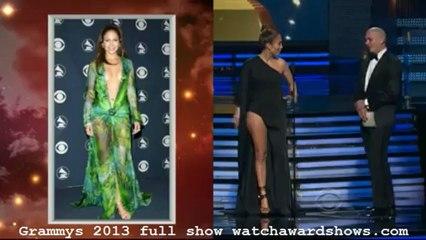 HD Pitbull and Jeniffer Lopez presents Grammy 2013