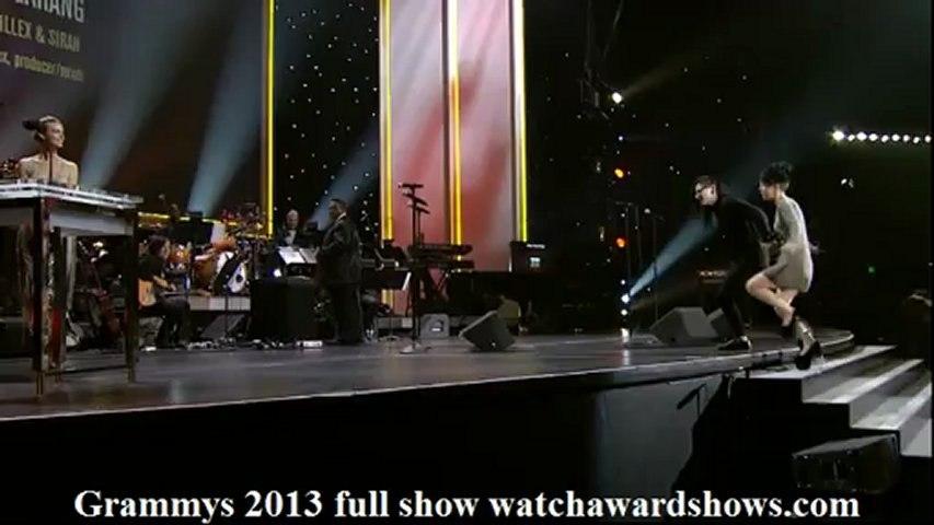 HD Skrillex acceptance speech 2013 Grammys