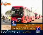 Lahore Metro  First Day First Show First Accident With Cover up