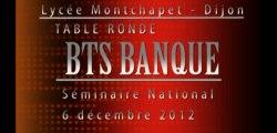 Séminaire Banque - 6 décembre 2012 - Table Ronde