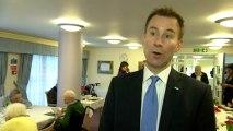 Health Secretary: Elderly care bills to be capped