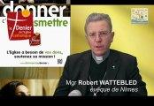 Message de Mgr Wattebled aux donateurs