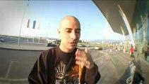 Eklips is beatboxing at Bulgaria Airport - Beatbox Battle TV