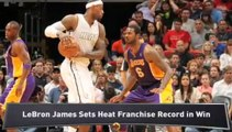 Clippers Top Knicks; LeBron Leads Heat