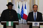 Point de presse avec M. Goodluck Ebele JONATHAN, Président de la République fédérale du Nigéria