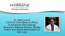 HairMax LaserComb Review Dr M. Leavitt. Stop Hair Loss now!