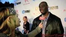 Isaac C. Singleton Jr. at YM's Grammy Gifting Suite Experience