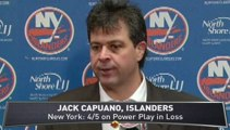 Slumping Islanders Lose to Hurricanes