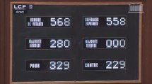 Mariage homo : les députés adoptent la loi par 329 voix