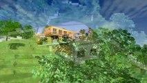 Villa Contemporaine Ecologique BBC & Bio climatique en Ossature Bois, Monomur et Pierre en Corse
