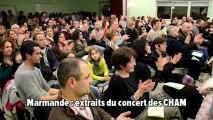 Marmande: extraits concert du CHAM