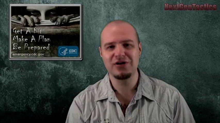 CDC Creates Zombie Apocalypse Kit