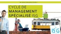 Présentation du Master Grande École ISG CMS (post Bac+3)