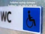 Toilettes sèches Quimper. Toilitech - tel. 04 92 202 200 - toilettes sèches quimper