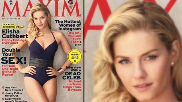 Maxim Names Elisha Cuthbert the Most Beautiful Woman on TV