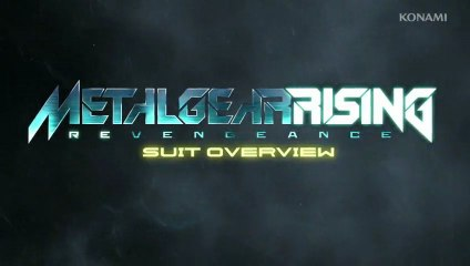 Metal Gear Rising - SUIT OVERVIEW
