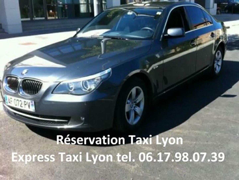 Réservation taxi lyon - tel 06 17 98 07 39  - réserver un taxi à lyon