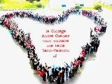 Saint Valentin au Collège André Chénier d'Eaubonne