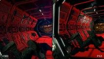 Aliens Colonial Marines : Xbox 360 vs. PS3 Comparison Video