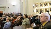 Academicieni morti in temnitele comuniste - Secretarul Academiei Romane la lansarea Enciclopediei INST