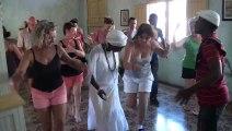 Les stagiaires francais se regalent avec le cours d'afro de DANSACUBA