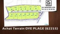 A vendre - terrain - OYE PLAGE (62215)