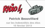 Beauvillard interrogé sur les indemnités des élus régionaux par Radio4