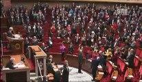 Intervention de Christiane Taubira suite au vote du projet de loi ouvrant le mariage aux couples de personnes de même sexe.