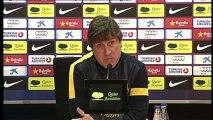 Roura: '' La mejor forma de hacer un buen partido el miércoles es hacer un buen partido sábado''