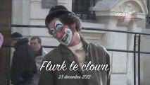 Noëls insolites de Carpentras 2012 - Flurk le Clown