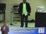 Youth Leadership Speaker The Magic Motivator Jamahl Keyes.
