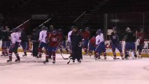 Canadiens practice for Buffalo Sabres (2)