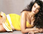 Hot Curvy Girl poses in Transparent Dress