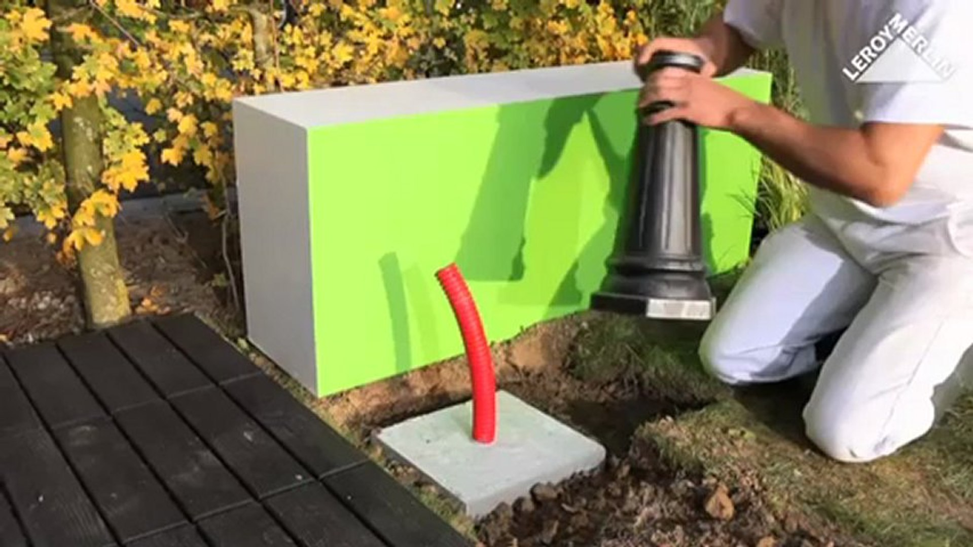 Comment Installer Un Lampadaire Exterieur