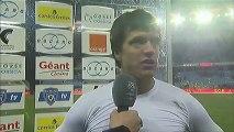 Interview de fin de match : SC Bastia - OGC Nice - saison 2012/2013