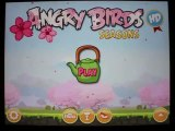 Angry Birds Seasons Cherry Blossom Level 1-1 3-Star Walkthrough iPhone/iPod/iPad 108260