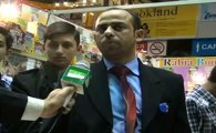 Shahid Anwar, ,Talking with Jeevey Pakistan at 27th International Book Fair Expo Lahore