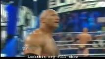 HD THe Rock vs CM Punk Elimination Chamber 2013