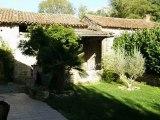 CO2558 Immobilier Tarn et Garonne. Entre St Antonin Noble Val et Varen, maison en pierre restaurée,de 130 m² de SH, 3 chambres, jardin de 595 m²