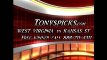 Kansas St Wildcats versus West Virginia Cavaliers Pick Prediction NCAA College Basketball Odds Preview 2-18-2013