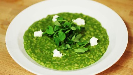 Simply Gourmet: Pea And Goats Cheese Risotto