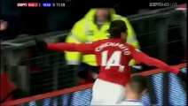 Gol de Chicharrito Hernandez [Manchester United 2-0 Reading]