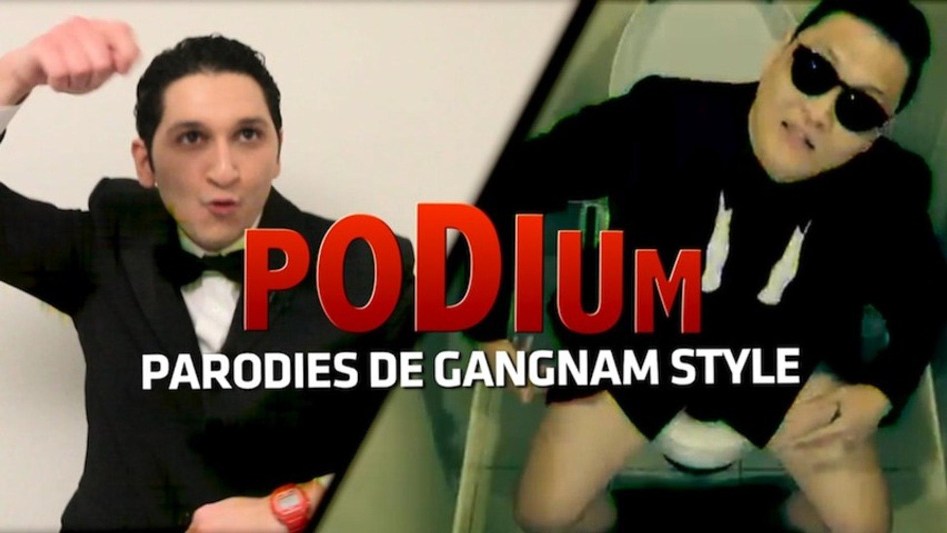 PODIUM #01  Les parodies du Gangnam Style