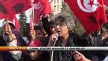Tunisie : Concert hommage à Chokri Belaïd