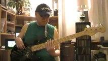 Open the eyes of my heart Gospelrock basscover Bob Roha