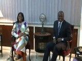 Le ministre sénégalais des affaires étrangères sénégalais reçu par le Ministre d'Etat Hamed BAKAYOKO