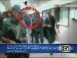 """Denuncian """"traslado relámpago"""" de la jueza Afiuni a los tribunales"""