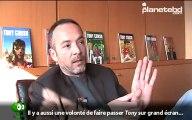 Olivier Berlion en interview pour planetebd.com