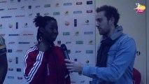 Interview Armelle Attingre - Coupe de la Ligue Féminine de Handball 2013